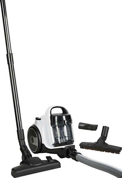 BOSCH Bodenstaubsauger BGS05AAA1 Cleann'n, 700 Watt, beutellos, Kompakt mit überzeugender Reinigungsleistung. Kann platzsparend verstaut werden.