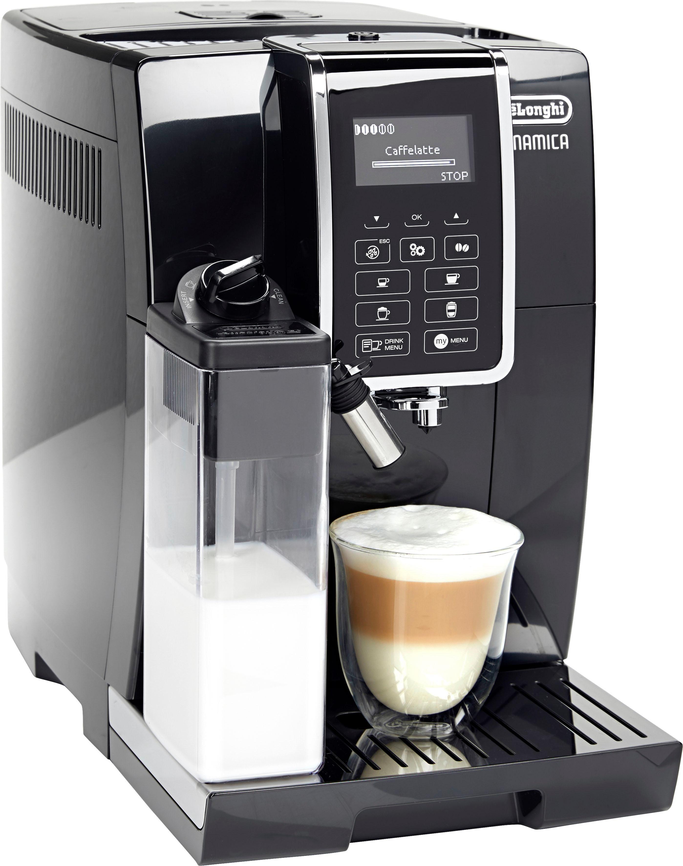 Kaffeevollautomat Dinamica ECAM 350.55.B, mit 4 Direktwahltasten