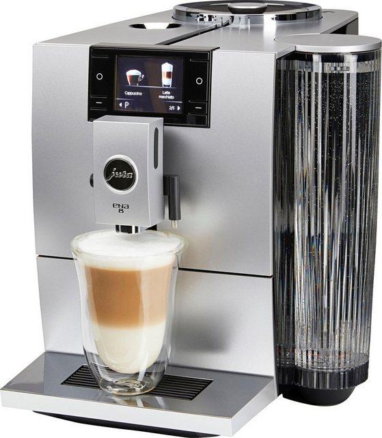 JURA Kaffeevollautomat ENA 8| Wireless ready und kompatibel mit JURA App J.O.E.®| Metropolitan Black | Küche und Esszimmer > Kaffee und Tee > Kaffeevollautomaten | Jura