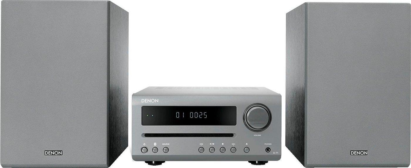 Denon »D-T1« Kompaktanlage (FM-Tuner mit RDS, 30 W)