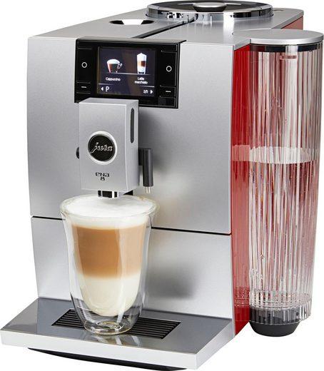 JURA Kaffeevollautomat ENA 8, Wireless ready und kompatibel mit JURA App J.O.E.®, Sunset Red
