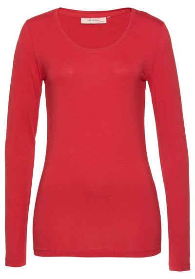 Langarmshirt in rot online kaufen   OTTO b9962500dd