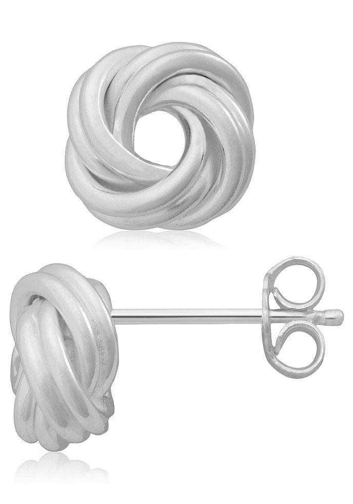 Firetti Paar Ohrstecker »Knoten« glanz, massiv