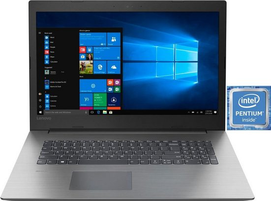 Lenovo ideapad 330-17IKB Notebook (43,9 cm/17,3 Zoll, Intel Pentium, 1000 GB HDD, 128 GB SSD)