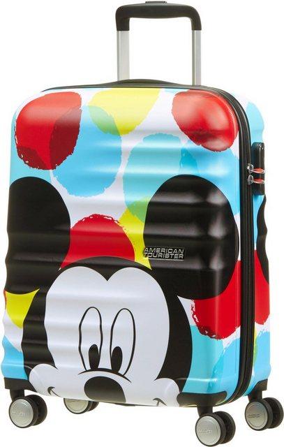 American Tourister® Hartschalen-Trolley »Wavebreaker Disney, 55cm«, 4 Rollen | Taschen > Koffer & Trolleys > Trolleys | Bunt | American Tourister®