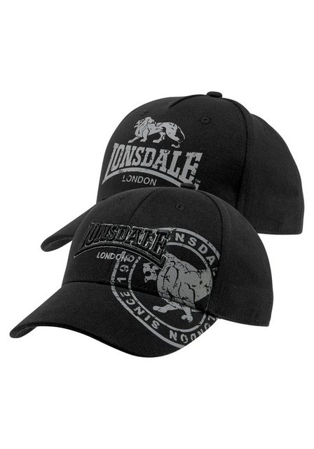 Lonsdale Baseball Cap (Packung, 2-St)   Accessoires > Caps > Baseball Caps   Lonsdale