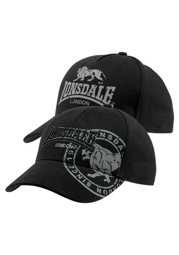 Lonsdale Baseball Cap (Packung, 2-St)