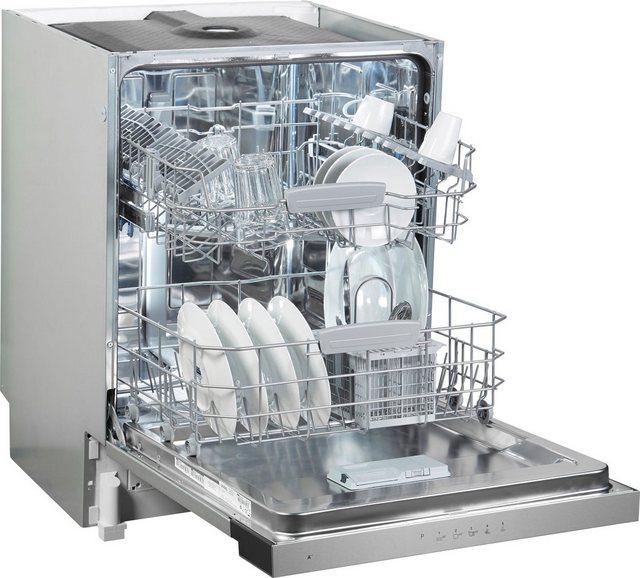 Küchengroßgeräte - Privileg teilintegrierbarer Geschirrspüler, RBC 3B 26 X, 12 l, 14 Maßgedecke  - Onlineshop OTTO