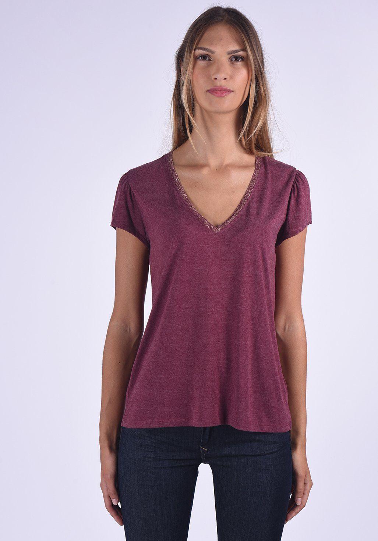 Kaporal T-Shirt in melierter Optik