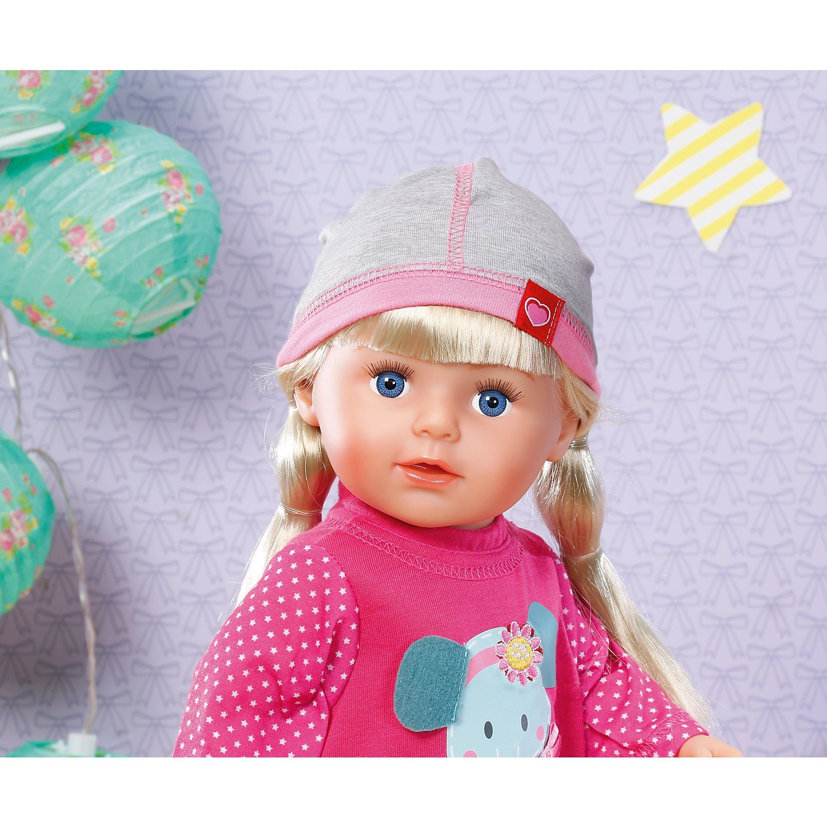 Zapf Creation® Dolly Moda Mütze Grau