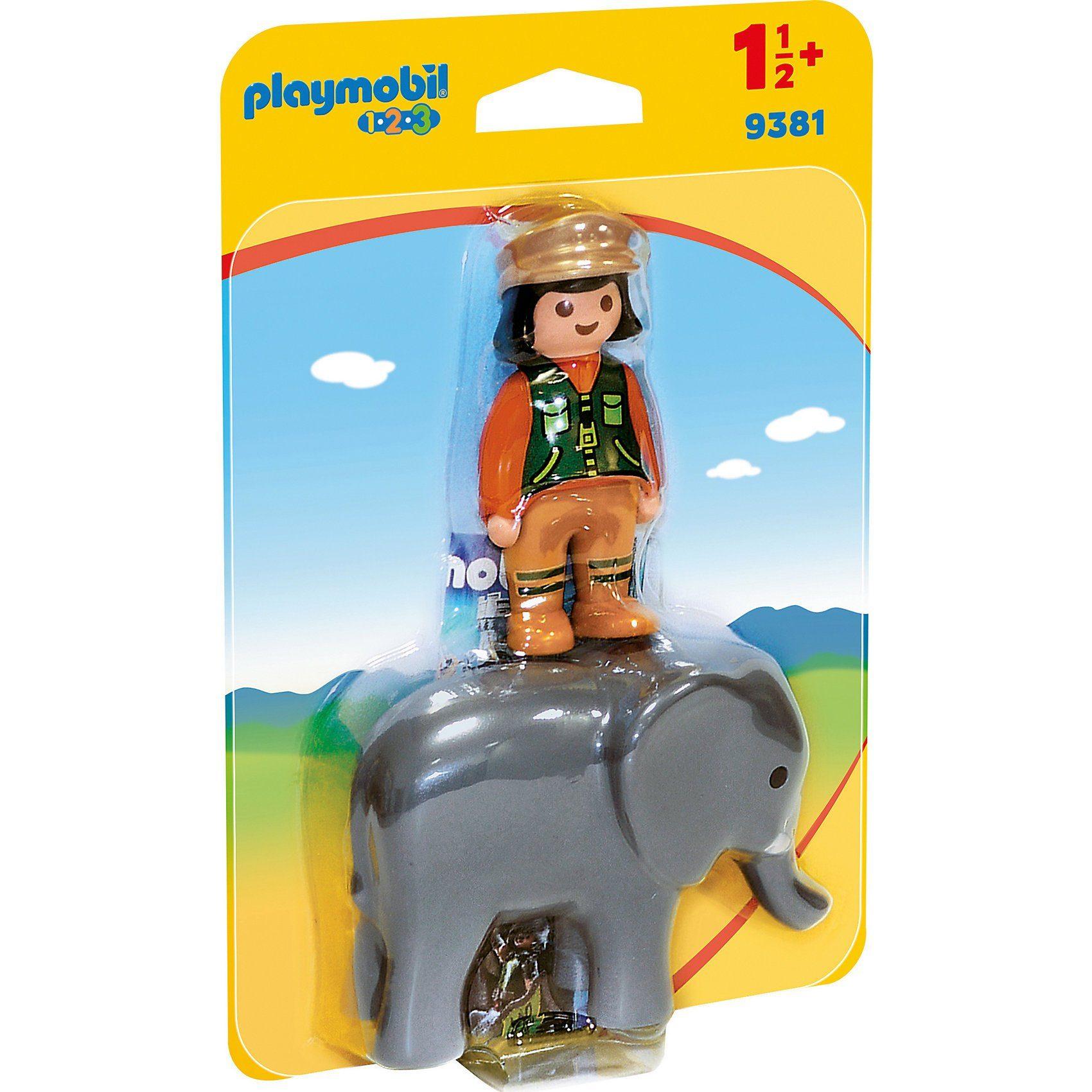 Playmobil® 9381 Tierpflegerin mit Elefant