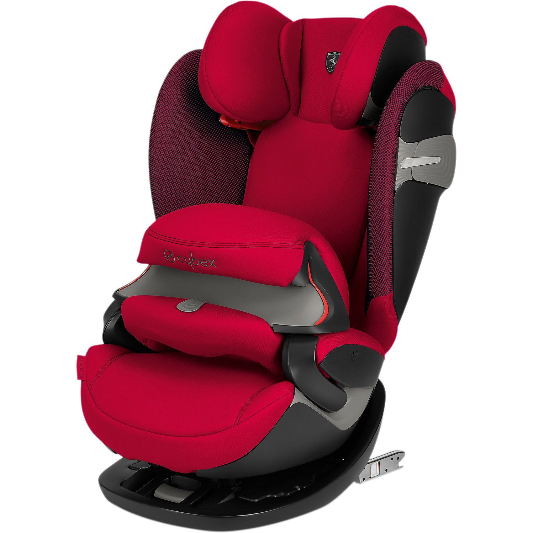 Cybex Auto-Kindersitz Pallas S-Fix, Scuderia Ferrari, Racing Red
