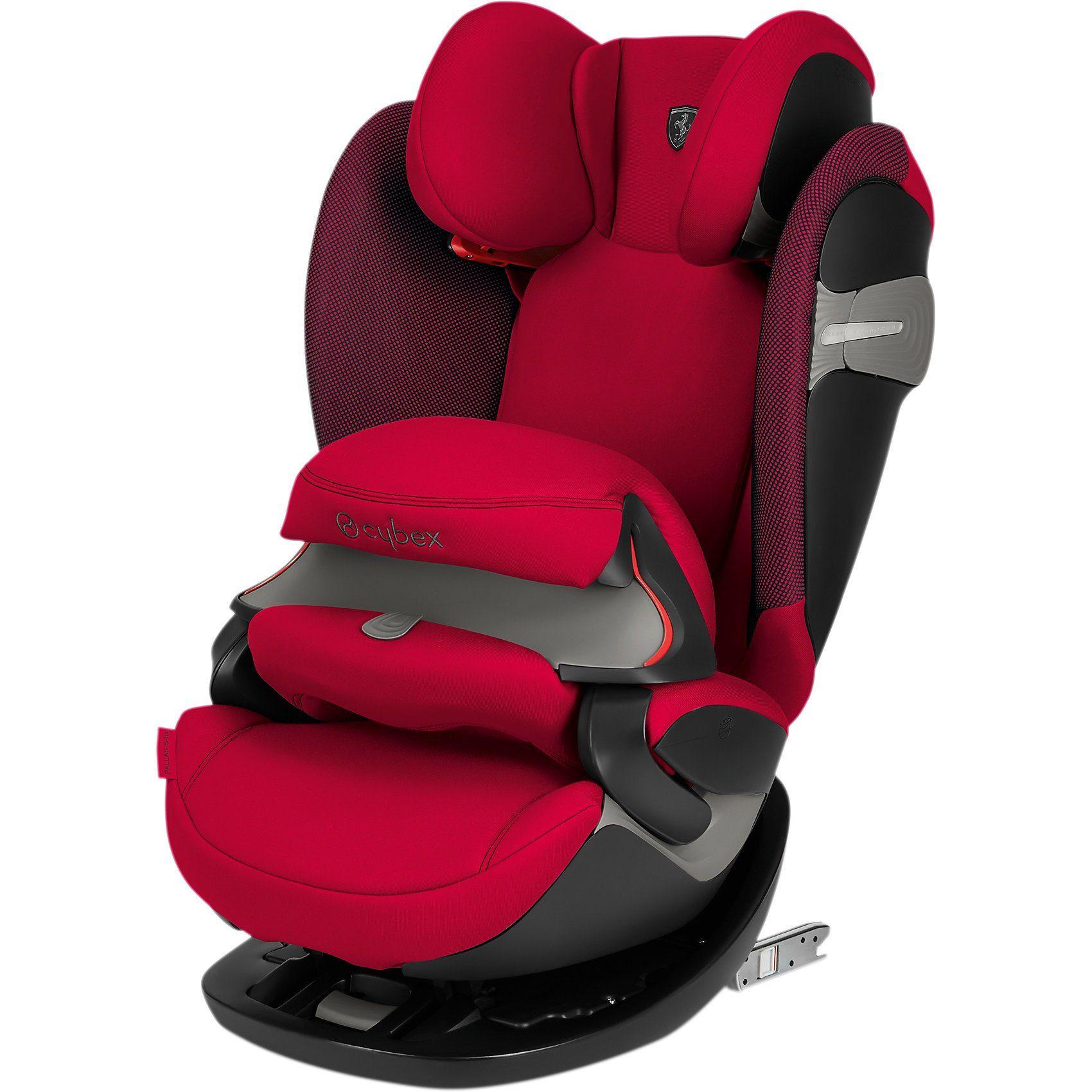 Cybex Auto-Kindersitz Pallas S-Fix, Scuderia Ferrari, Racing Red