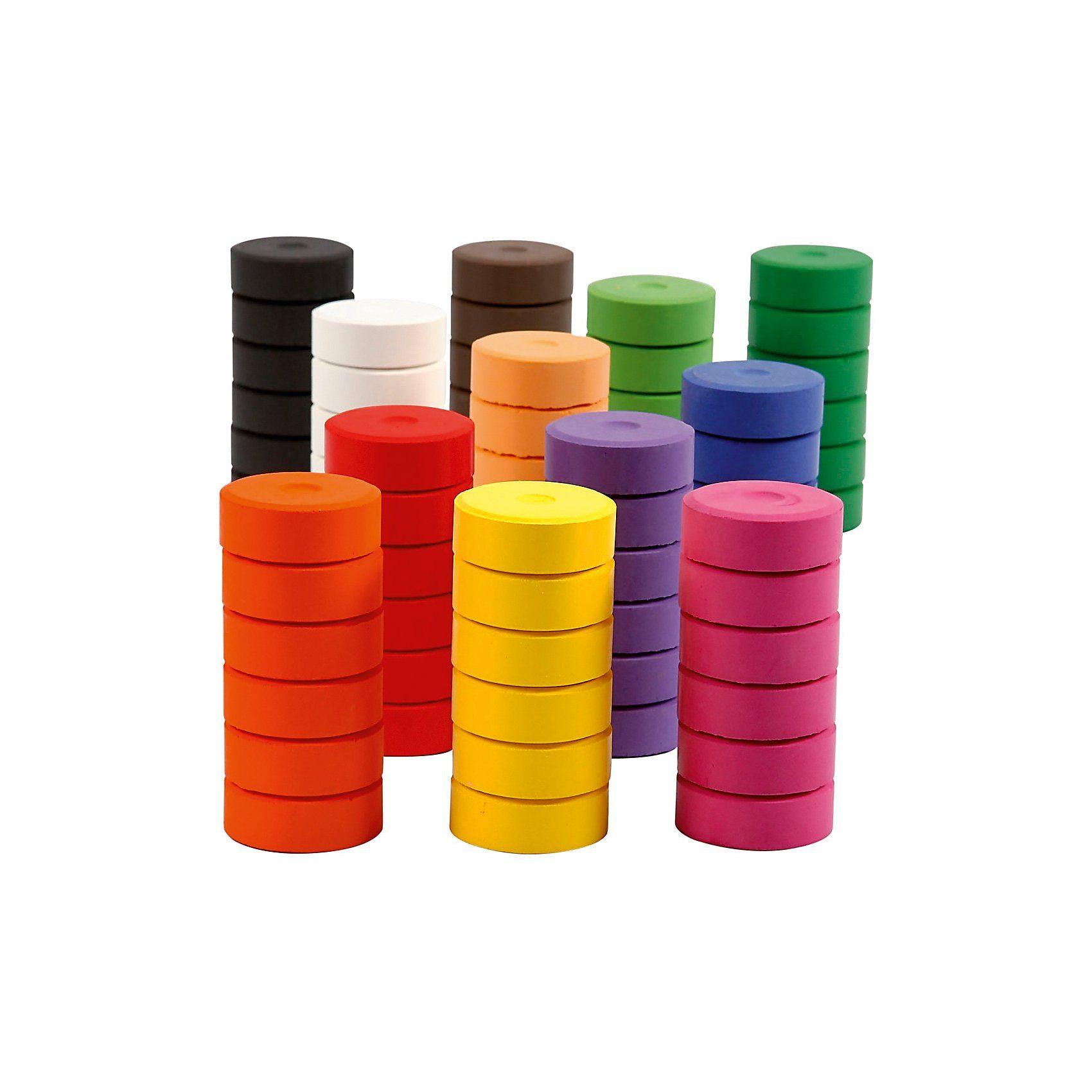 Wasserfarbe, D: 44 mm, H 16 mm, 72 Stück