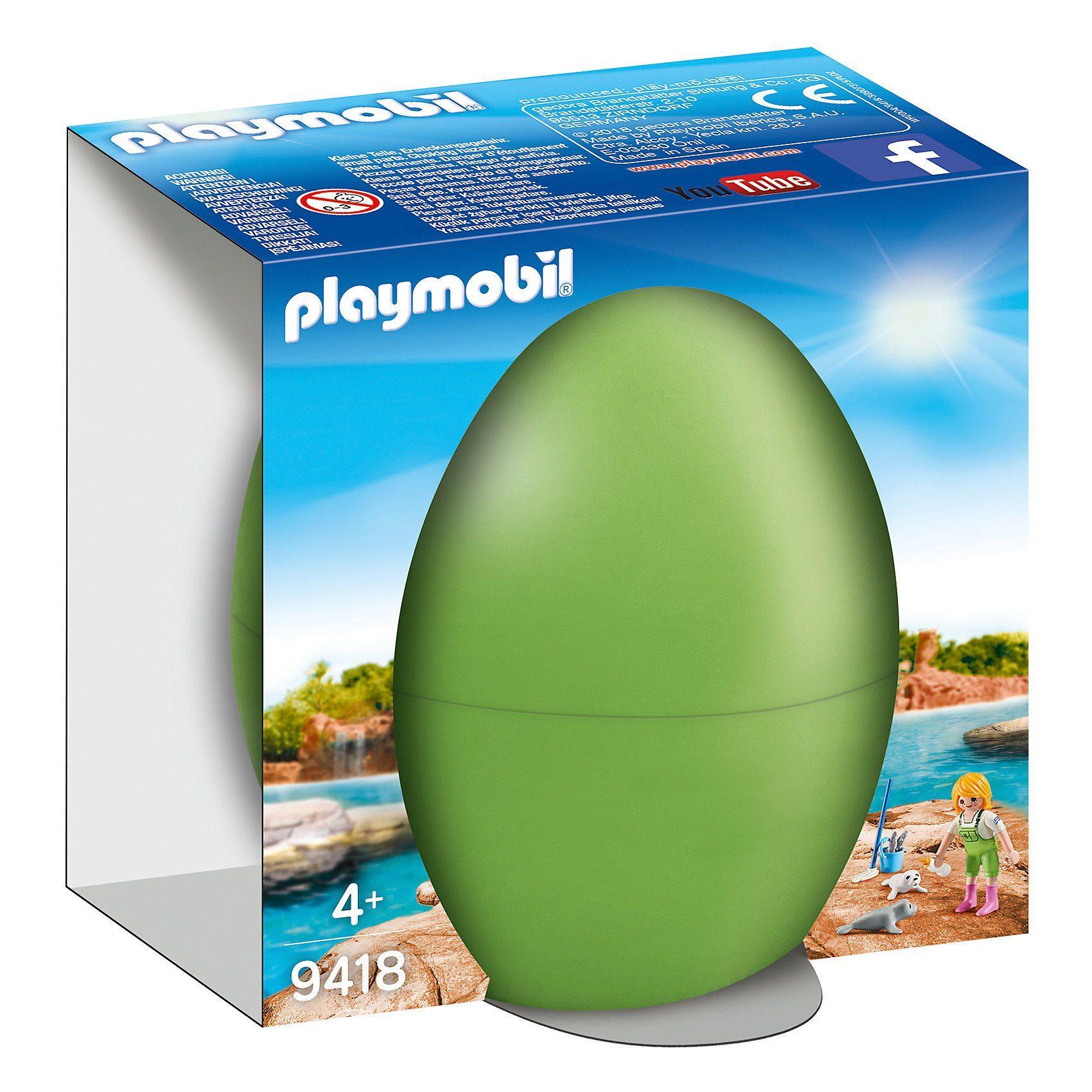 Playmobil® 9418 Tierpflegerin mit Seehundbabys