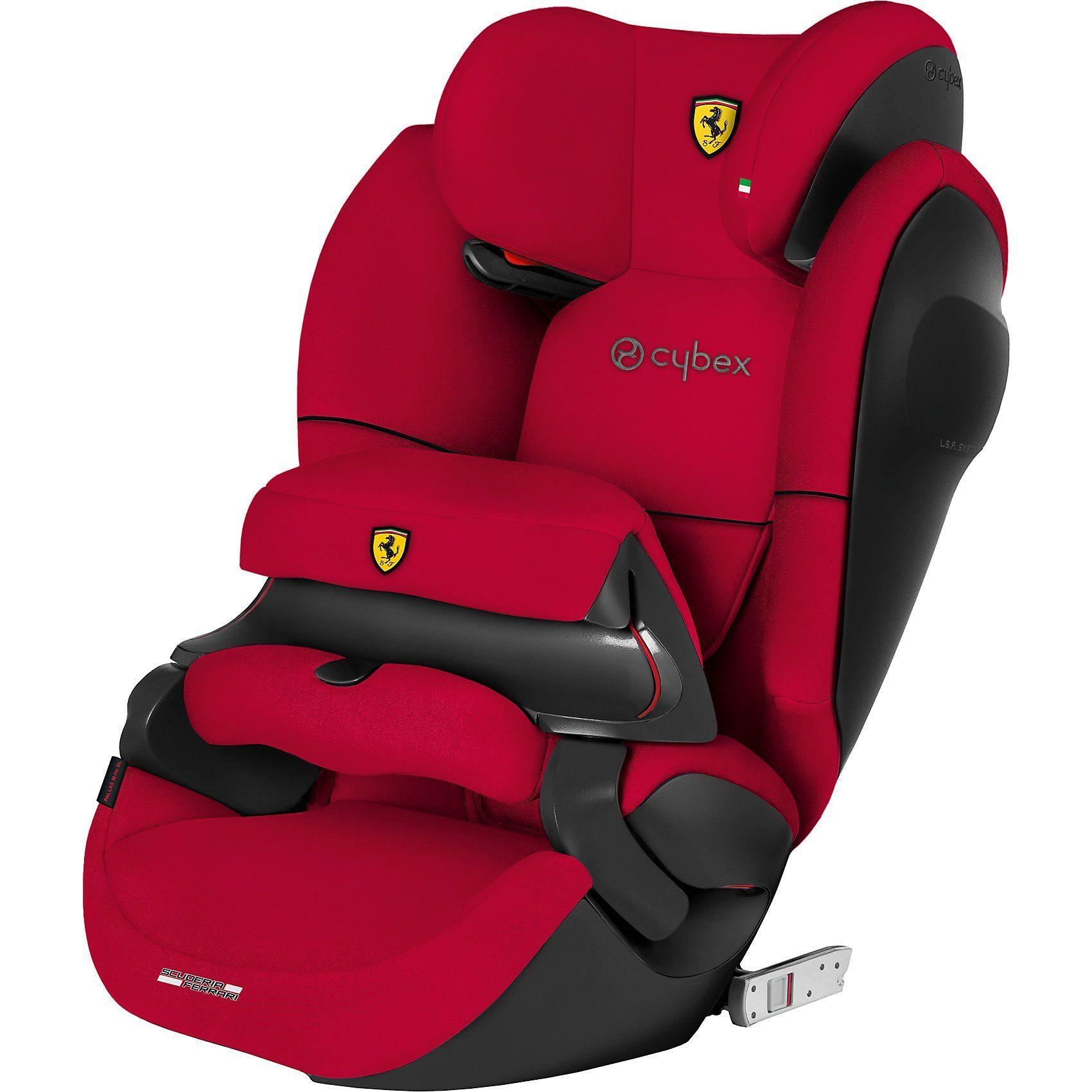 Cybex Auto-Kindersitz Pallas M-Fix SL, Scuderia Ferrari, Racing Re