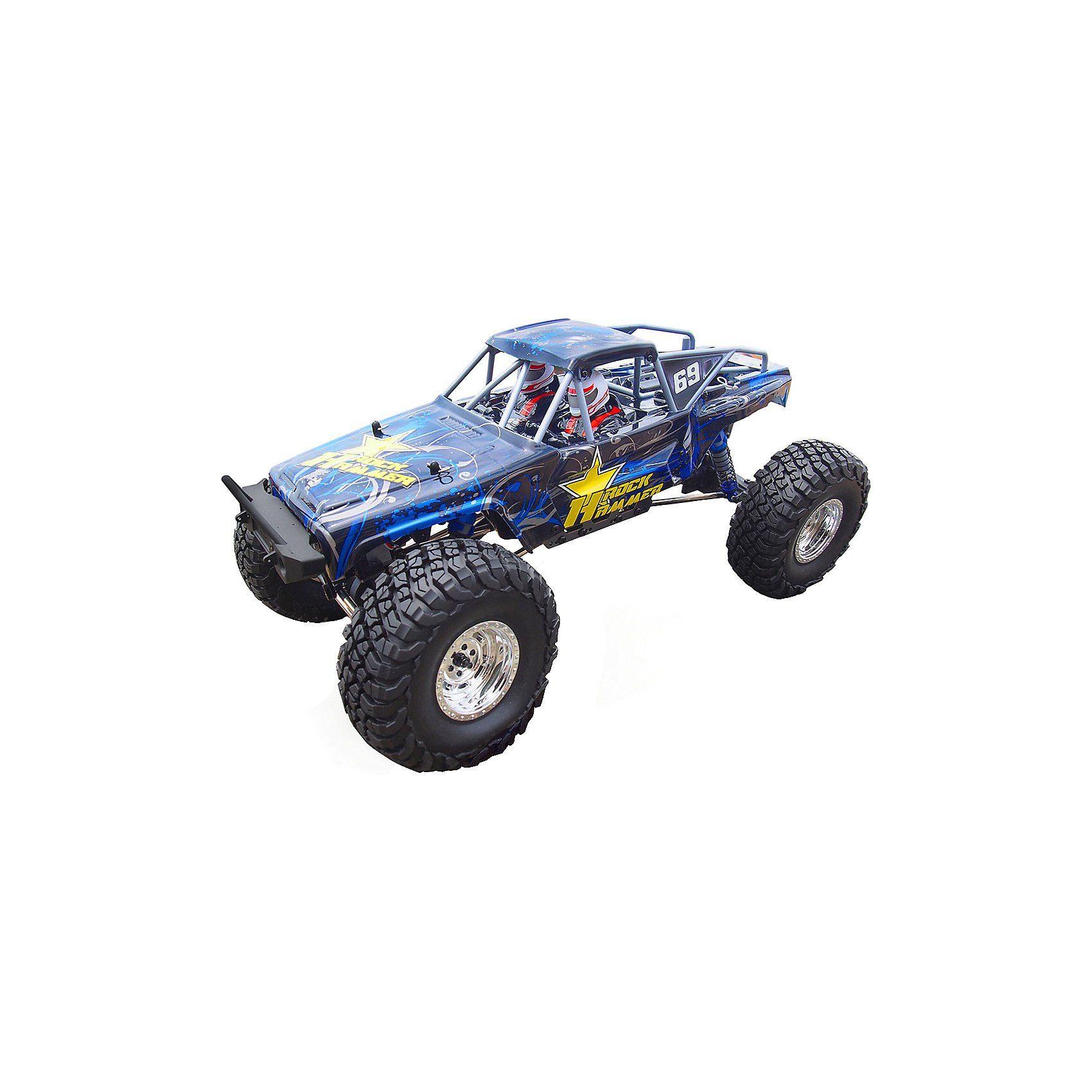 Amewi AMXRock RockHammer Crawler 1:8, RTR, blau