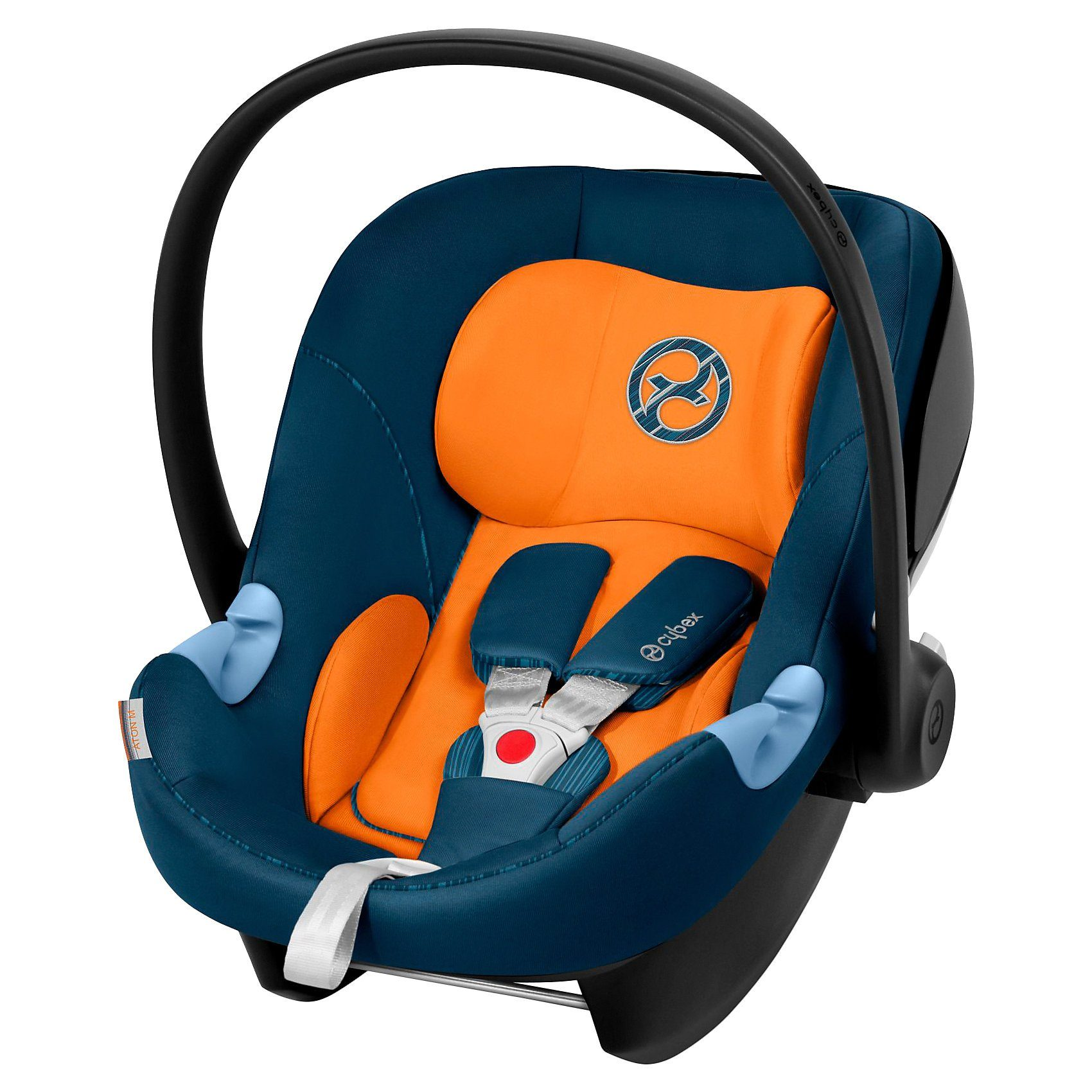 Cybex Babyschale Aton M, Gold-Line, Tropical Blue, 2019