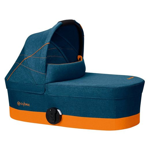 Cybex Kinderwagenaufsatz Cot S, Gold-Line, Tropical Blue