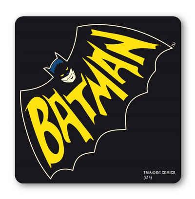 LOGOSHIRT Untersetzer im coolen Comicstil »Batman«