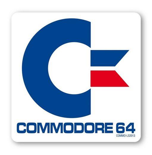 LOGOSHIRT Untersetzer mit Commodore 64 Motiv