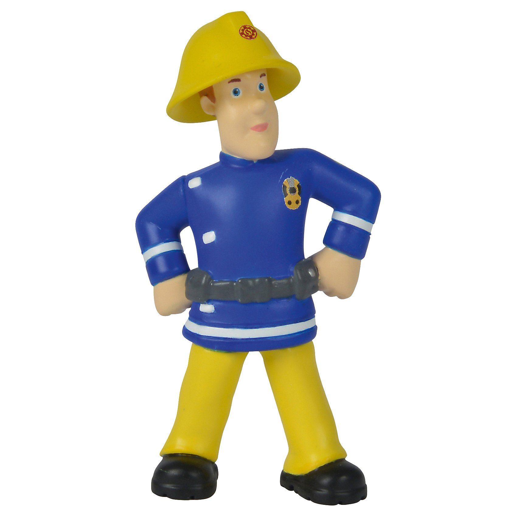 SIMBA Feuerwehrmann Sam Sammelfiguren Serie 1, 12fach sortiert