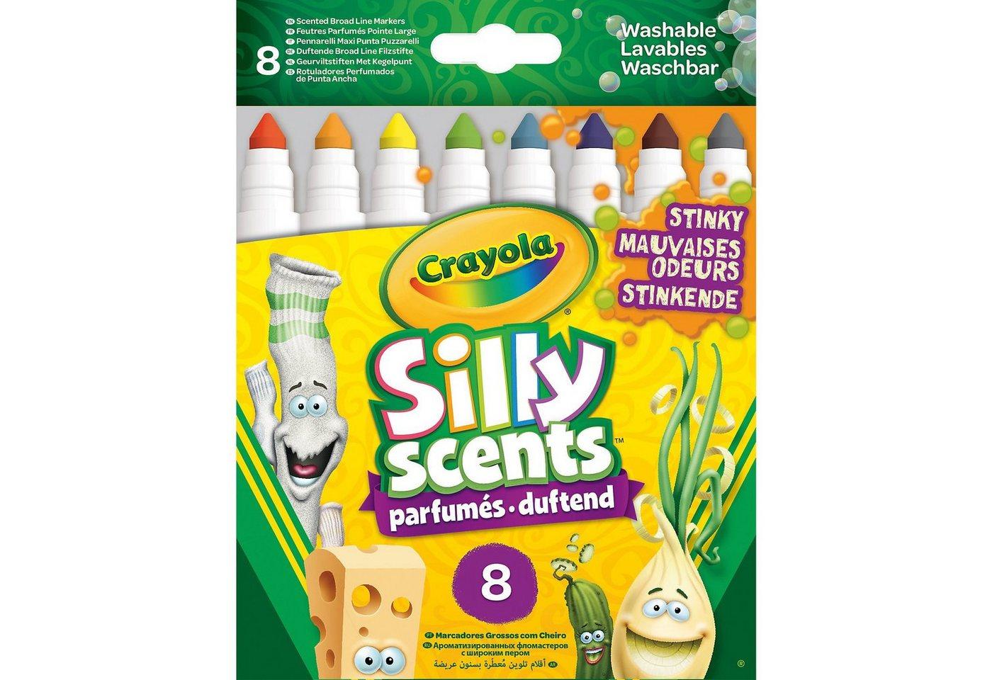 Crayola® 8 Silly Scents Stinkende Filzstifte