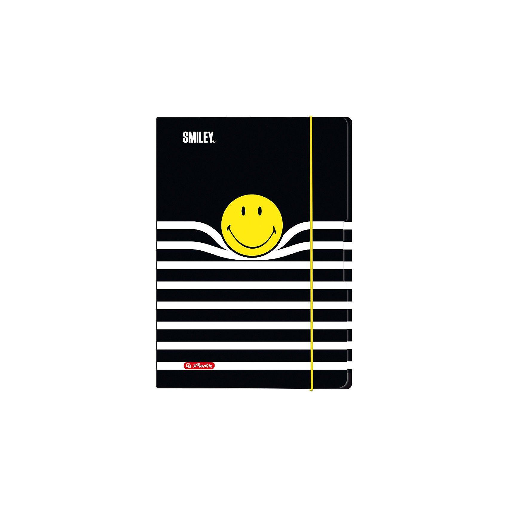 Sammelmappe/Zeichenmappe A3 Smiley B&Y Stripes