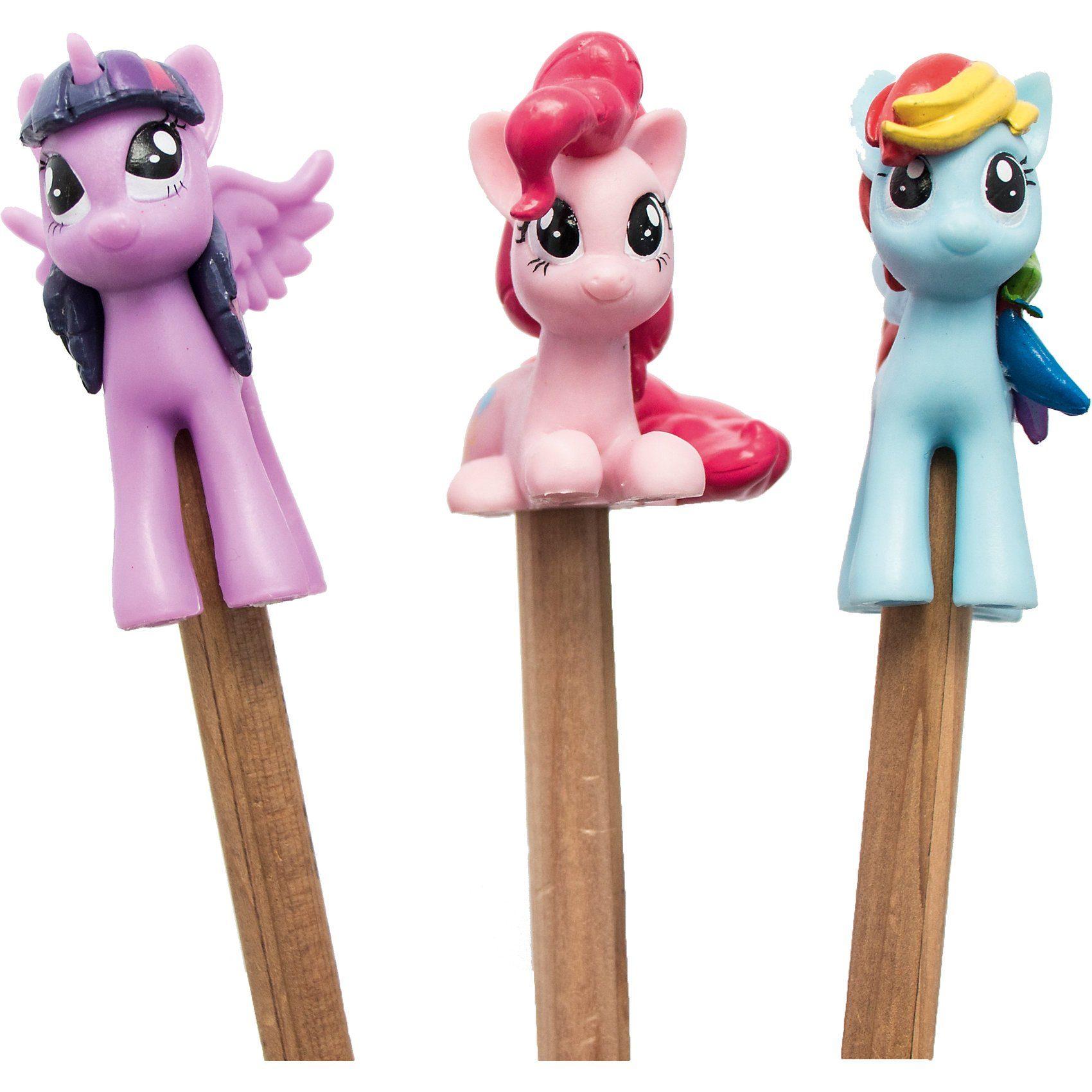 Joy Toy My Little Pony Pencil Topper mit 3d-Figur im Blindpack
