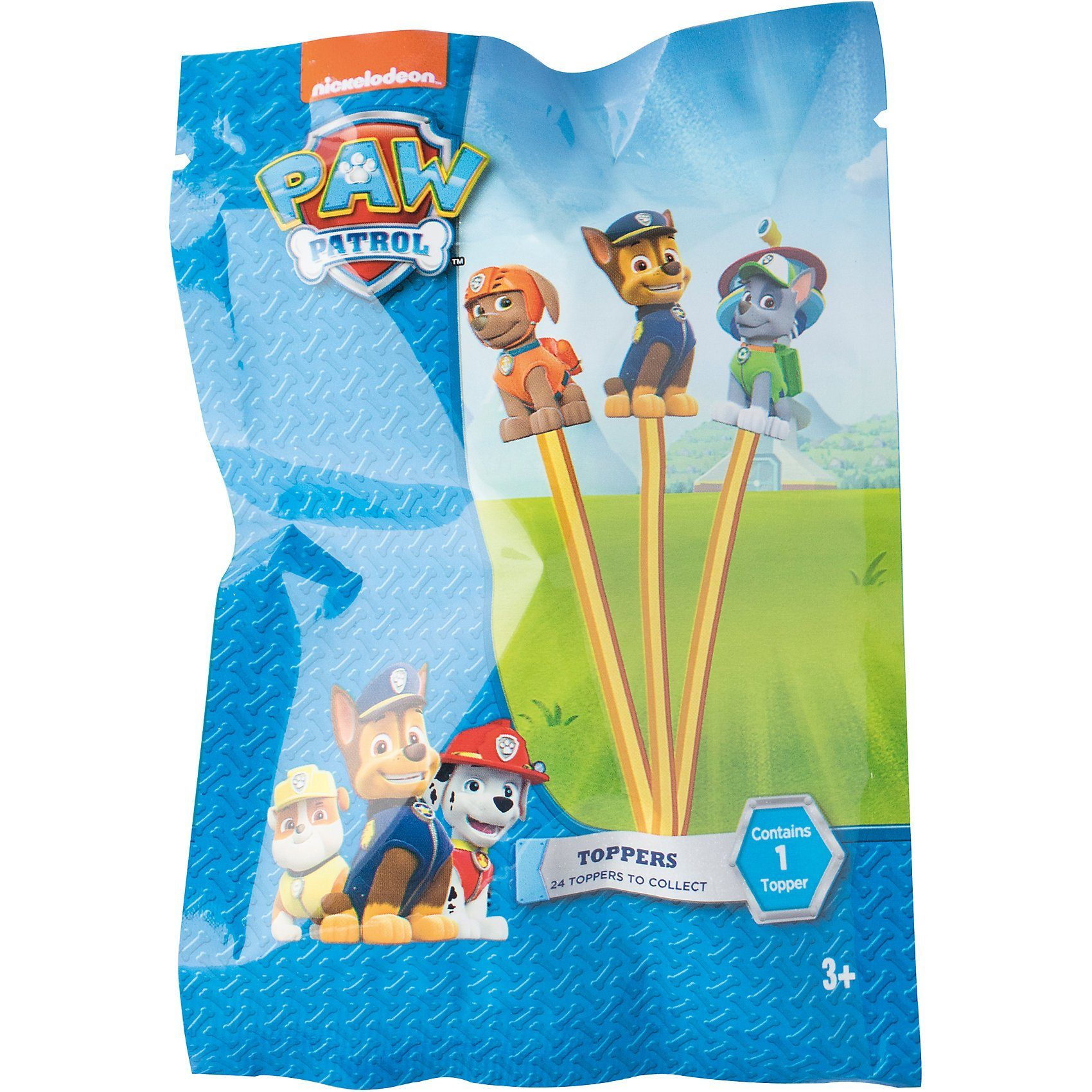 Joy Toy Paw Patrol Pencil Topper mit 3d-Figur im Blindpack