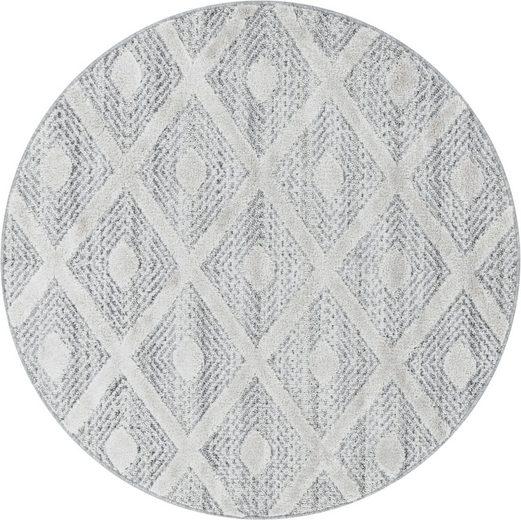 Teppich »PISA 4707«, Ayyildiz, rund, Höhe 20 mm