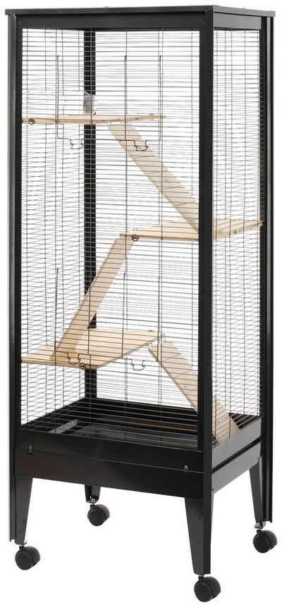 SILVIO design Kleintierkäfig »Mailand«, BxLxH: 59x47x150 cm