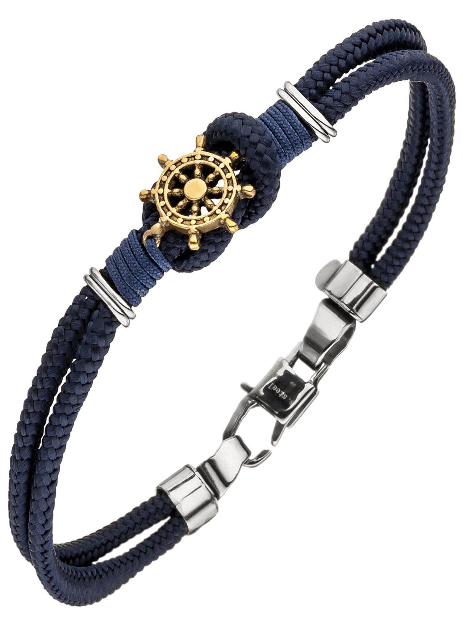 Adelia´s Armband »Steuerrad« Edelstahl - 19 cm