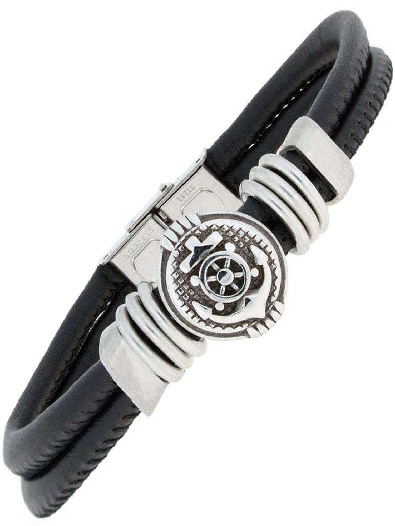 Adelia´s Armband »Ankerkette« Edelstahl - 21 cm