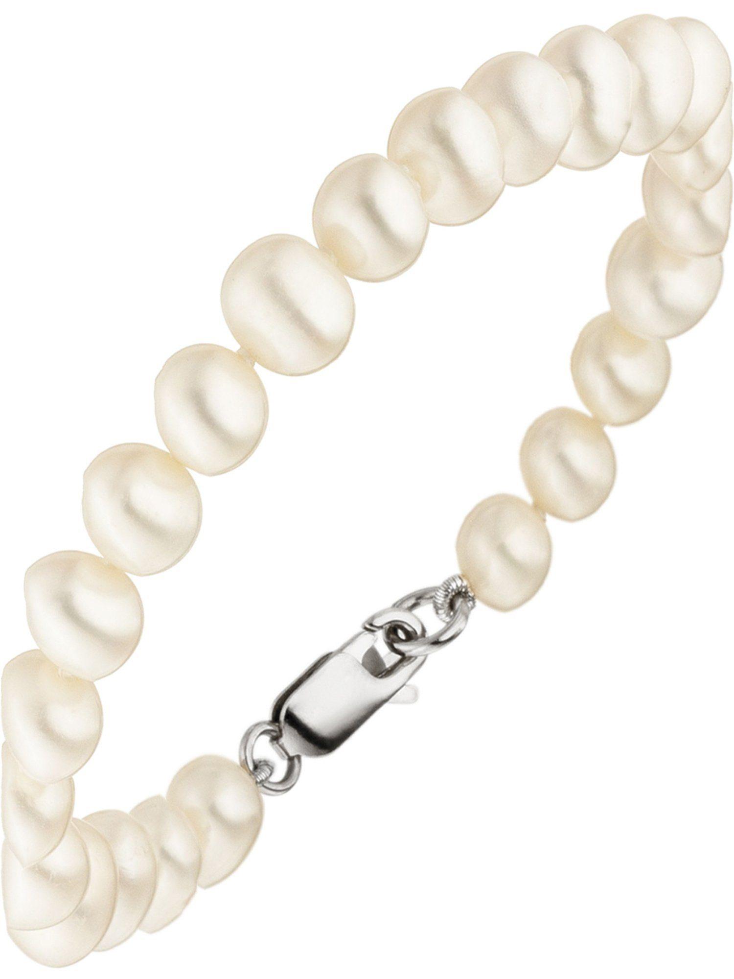 Adelia´s Armband mit Süßwasser - Zuchtperle - 19 cm