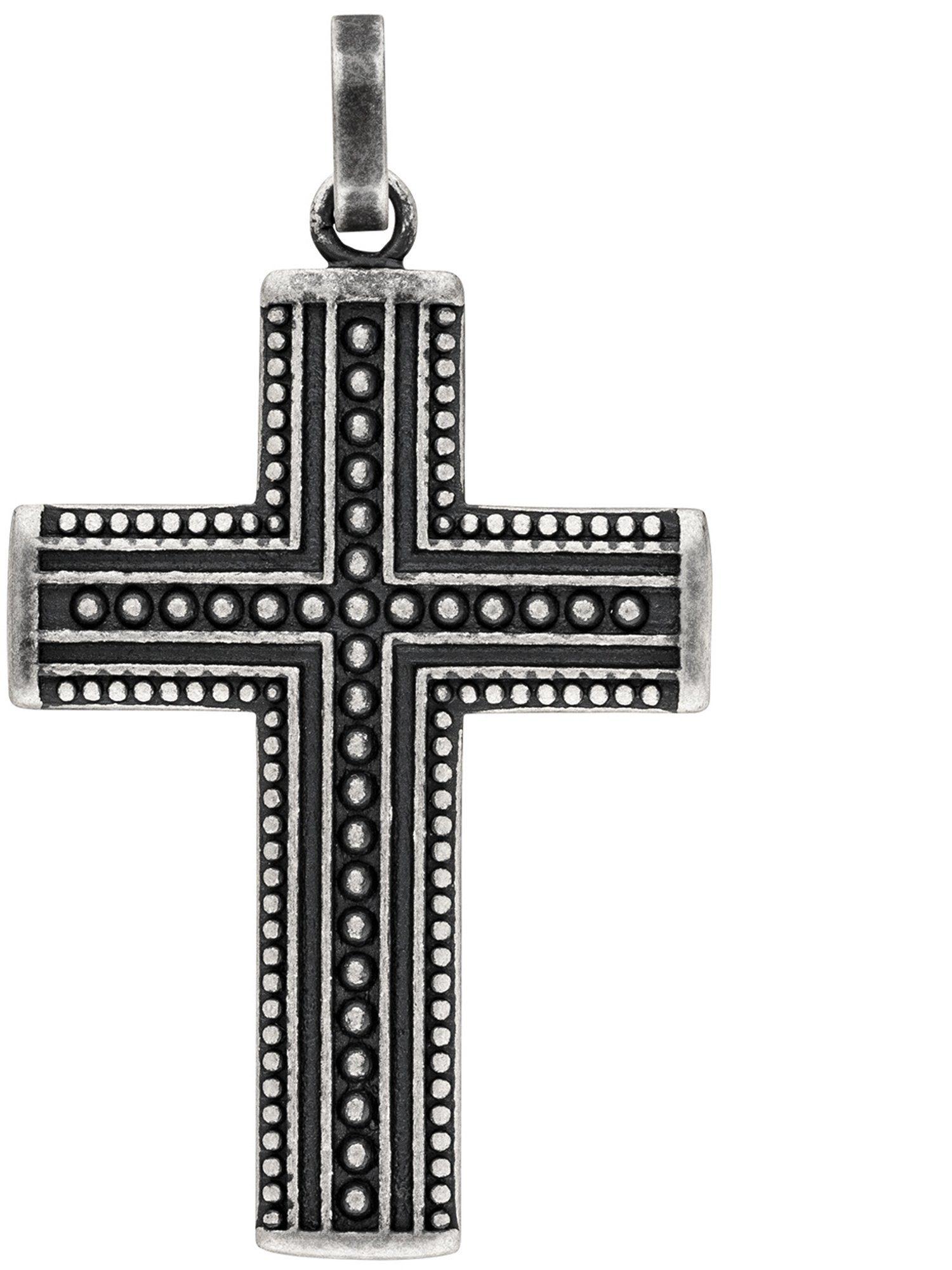 Adelia´s Kettenanhänger »Kreuz« Edelstahl