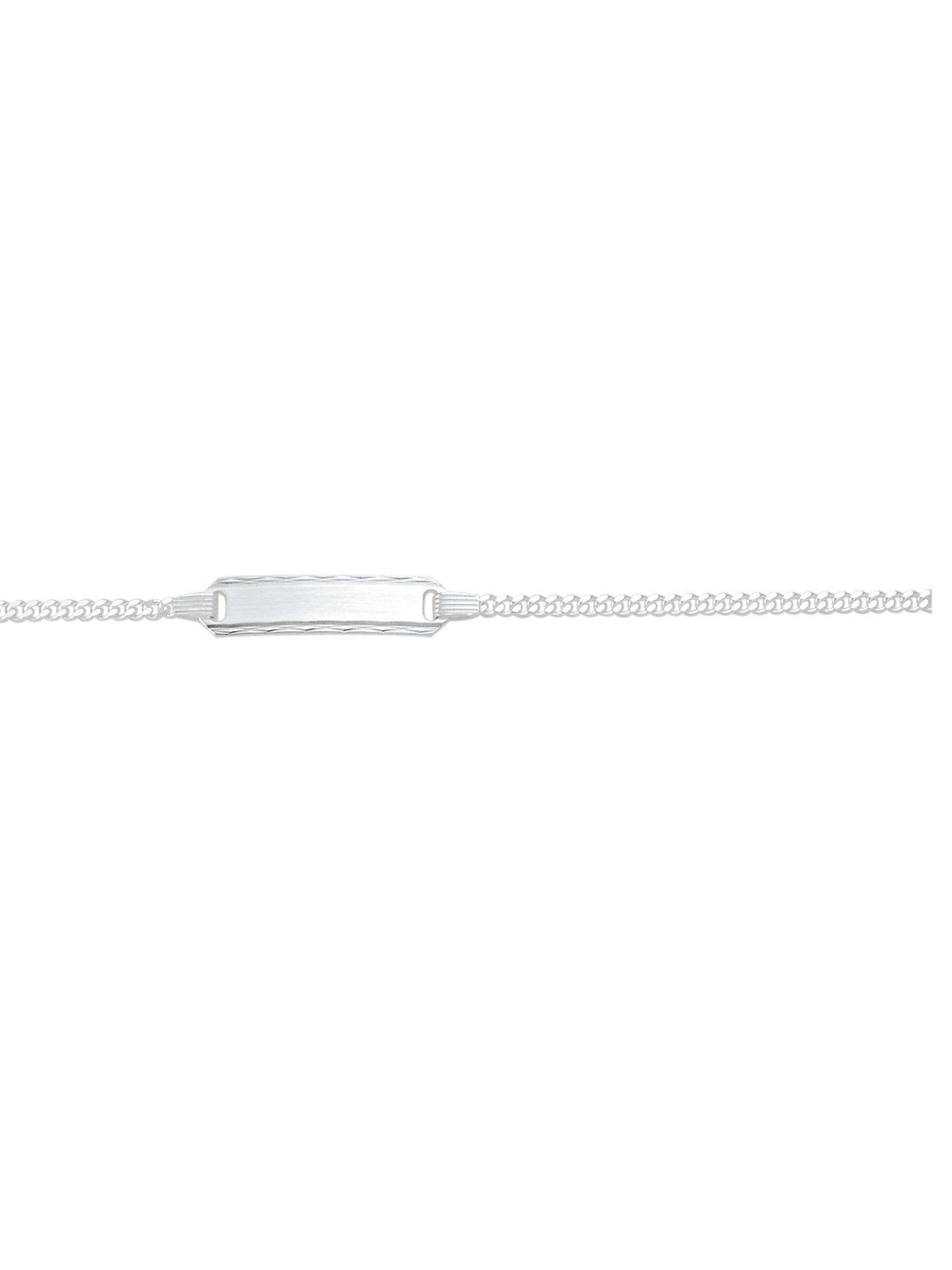 Adelia´s Silberarmband »Silber Armbänder« 925 Sterling Silber Flach Panzerkette