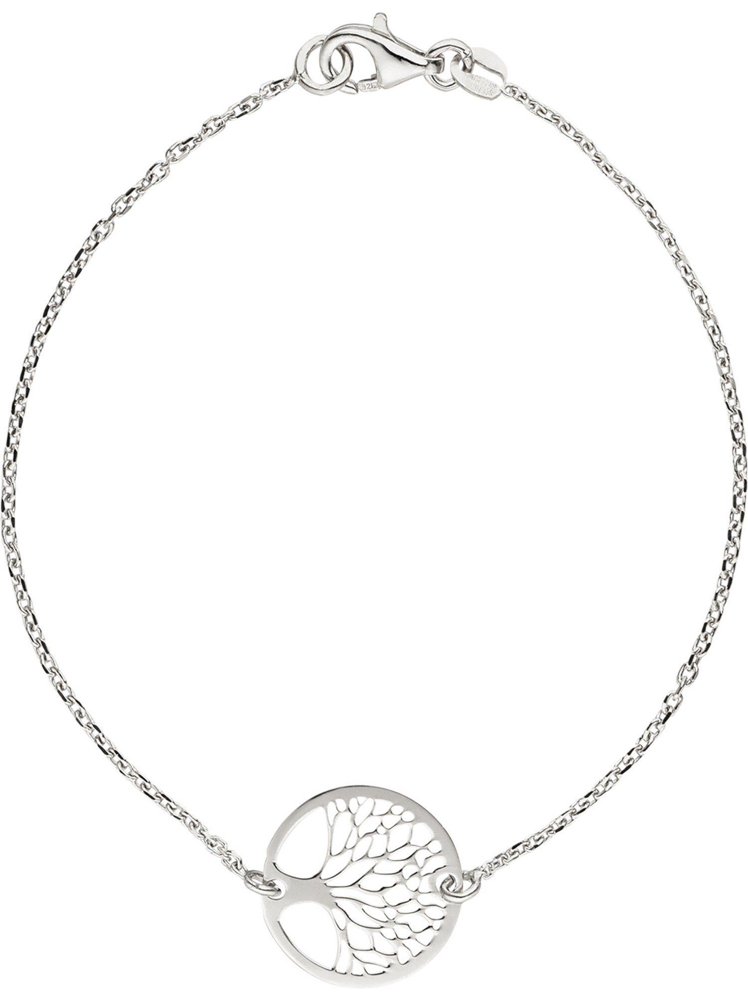 Adelia´s Armband »Lebensbaum« 925 Silber Ø 1.48 mm - 19 cm