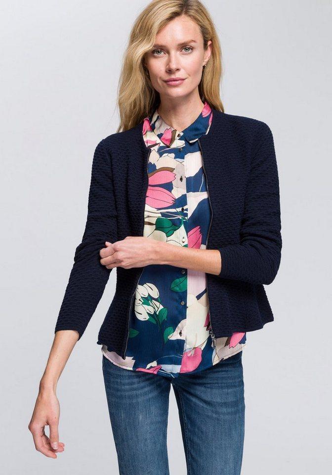 Esprit Collection Cardigan mit dekorativem Strickmuster online ...