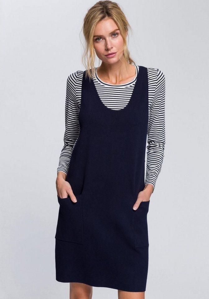 6e3a2a600fa9 edc by Esprit 2-in-1-Kleid (Set, 1 tlg., mit T-Shirt) aus Jersey und ...