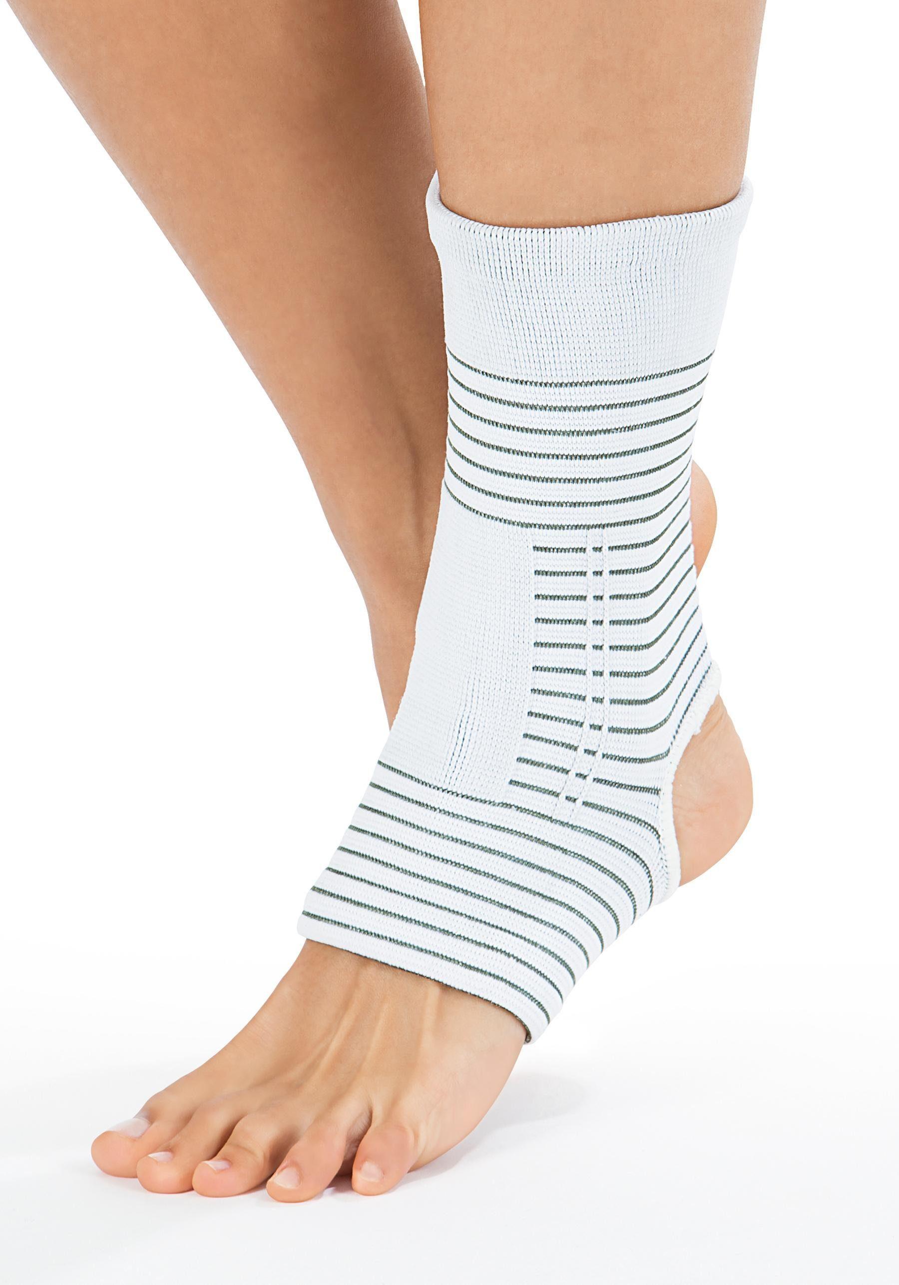 VITALmaxx Fußbandage, mit Kupferfasern