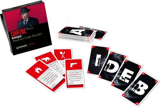 GMEINER Spiel, »Chiffre - Duell der Code-Knacker«