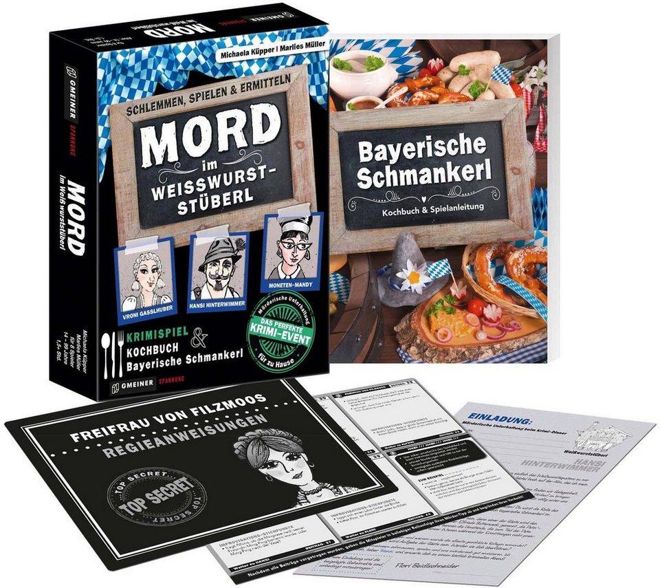 GMEINER Gesellschaftsspiel,  Mord im Weisswurst-Stüberl  online kaufen