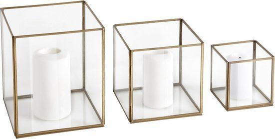 Guido Maria Kretschmer Home&Living Windlicht (Set, 3), handgefertigt