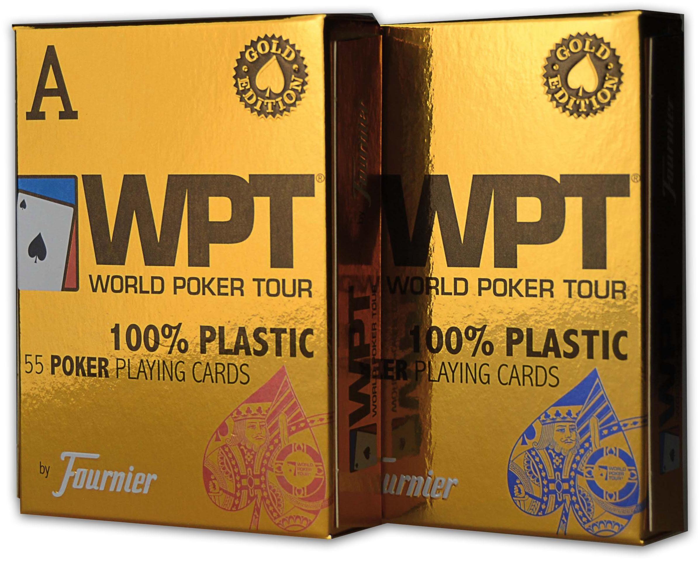 Bicycle Kartenspiel, »WPT Gold Edition«