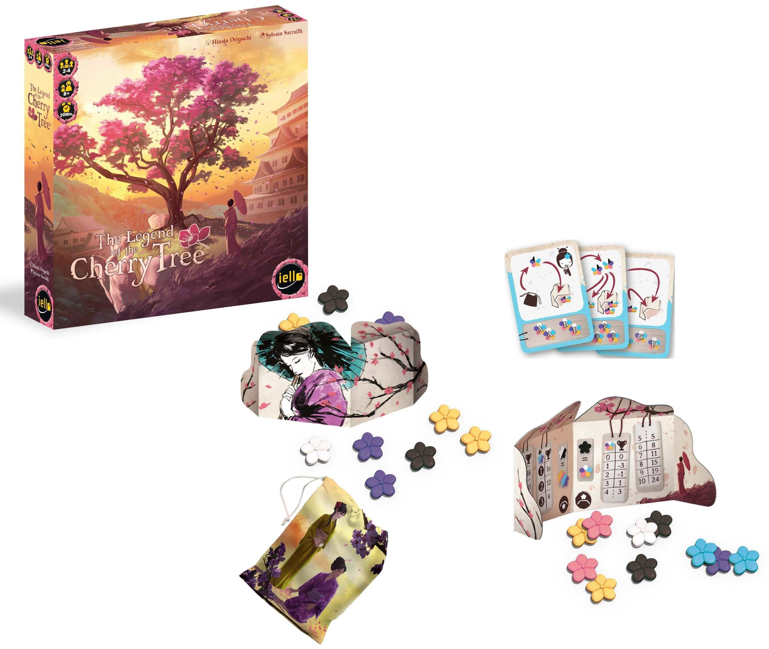 iello Strategiespiel, »The Legend of the Cherry Tree™«