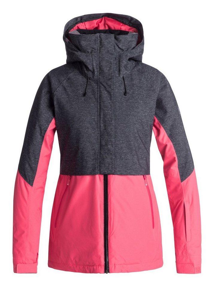 Roxy Snowboardjacke »Frozen Flow« | Sportbekleidung > Sportjacken > Snowboardjacken | Rosa | Polyester - Nylon - Twill - Taft | Roxy