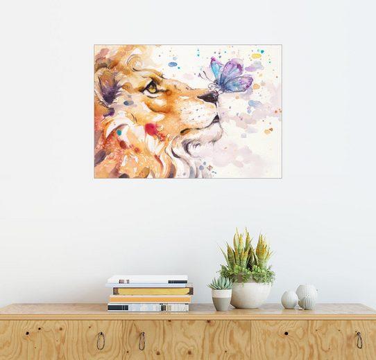 Posterlounge Wandbild - Sillier Than Sally »Finn's Lion«