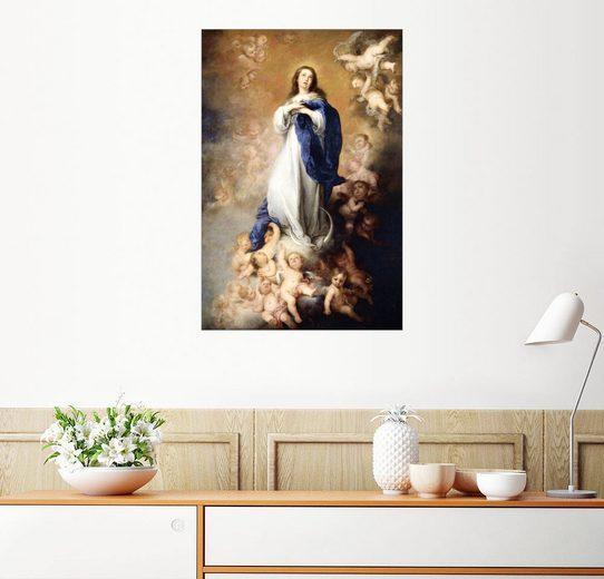 Posterlounge Wandbild - Bartolome Esteban Murillo »Unbefleckten Empfängnis der Maria«