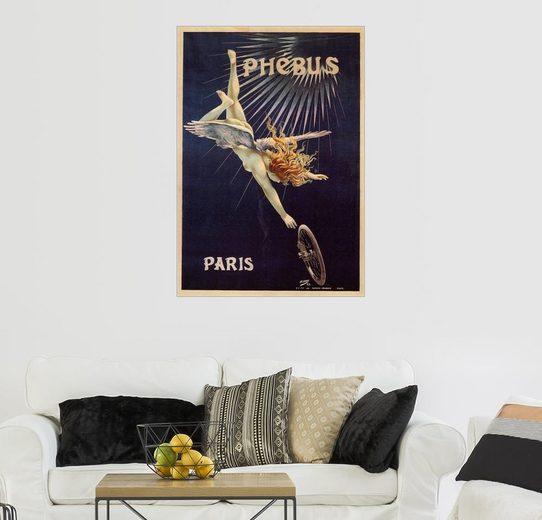Posterlounge Wandbild - Henri Gray »Phebus Fahrräder Paris«